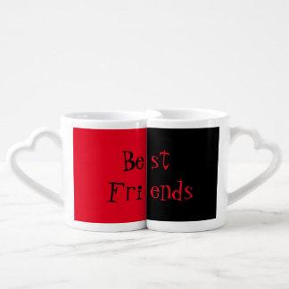 Beste Freund-Tassen-Set Partnertassen