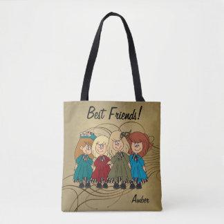 Beste Freunde für immer - personifizieren Sie