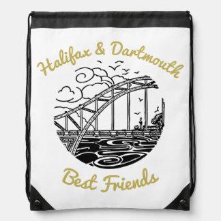 Beste Freunde Halifaxes Dartmouth N.S. Turnbeutel