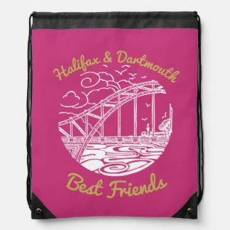 Beste Freunde Halifaxes Dartmouth Turnbeutel