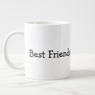 Beste Freunde Jumbo-Tasse