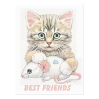 Beste Freunde Postkarte