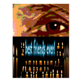 Beste Freunde überhaupt Postkarte