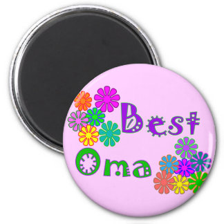 Beste Geschenke Oma Mutter Tages Runder Magnet 5,7 Cm