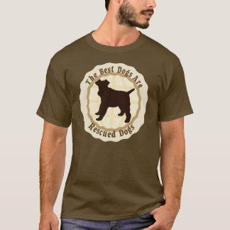 Beste Hunde werden - Draht-Foxterrier gerettet T-Shirt