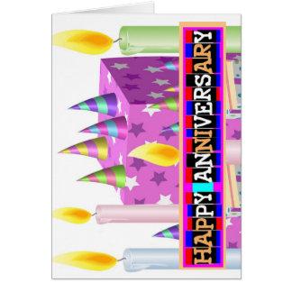 Beste Jahrestags-Kunst durch Naveen Grußkarte