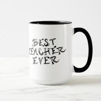 Beste Lehrer-überhaupt Tasse