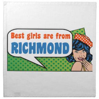 Beste Mädchen sind von Richmond Stoffserviette