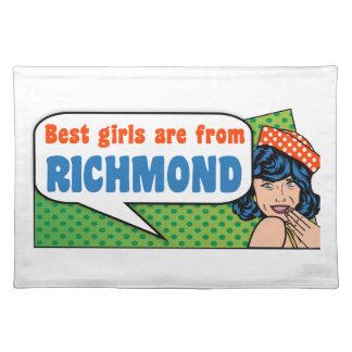 Beste Mädchen sind von Richmond Tischset