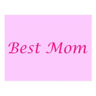Beste Mamma Postkarte
