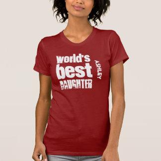 Beste Tochter in der Weltgeburtstags-Geschenk-Idee T-Shirt