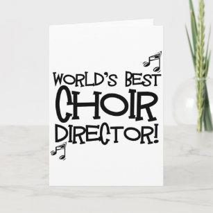 Bester der Chor-Direktor der Welt Karte