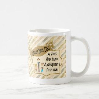 Bester der Vati-erster Held-erste Tasse