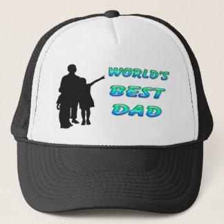Bester der Vati-Hut der Welt Truckerkappe
