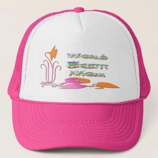 Bester die Mamma-Hut der Welt Truckerkappe