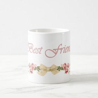 Bester Freund-Blumenkaffee-Tasse Tasse