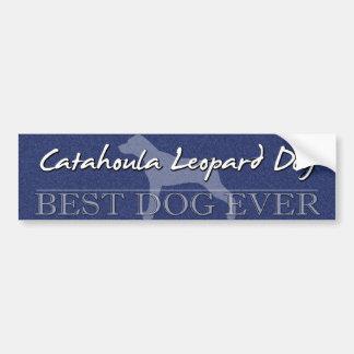 Bester HundCatahoula Leopard-HundeAutoaufkleber Autoaufkleber
