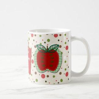 Bester Lehrer Apple personalisiert Tasse