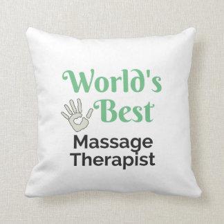 Bester Massagetherapeut der Welt Kissen