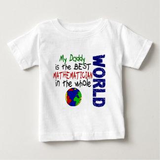 Bester Mathematiker in Welt 2 (Vati) Baby T-shirt