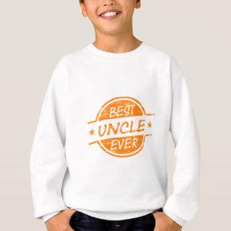 Bester Onkel Ever Orange Sweatshirt