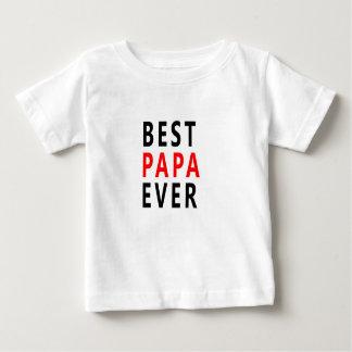 Bester Papa überhaupt Baby T-shirt
