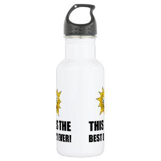 Bester Tagesüberhaupt Sonnenschein Trinkflasche