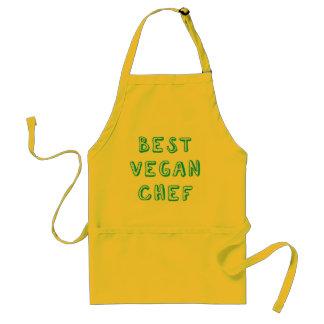 Bester veganer Koch Schürze