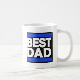 Bestes Vati-Blau Tasse