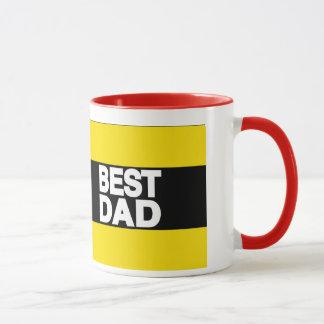 Bestes Vati-Fahrwerk-Gelb Tasse