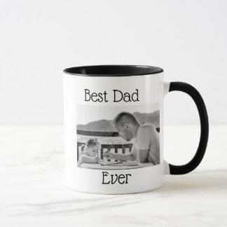 Bestes Vati-überhaupt Foto-personalisierte Tasse