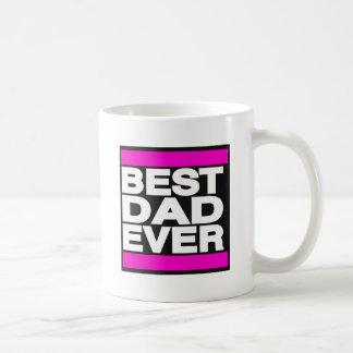 Bestes Vati-überhaupt Rosa Kaffeetasse