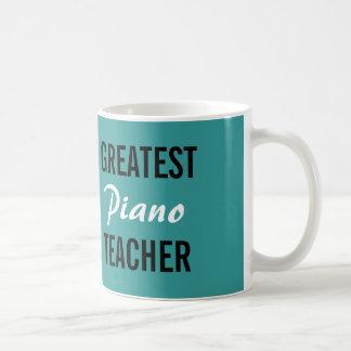 Bestste Klavierlehrer-Tasse Tasse