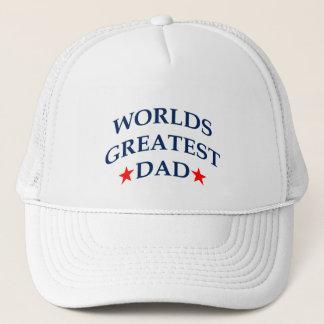 Beststes ~ der Vati der Welt patriotisch Truckerkappe