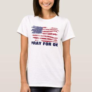 Beten Sie für O.K. - Oklahoma-T - Shirt