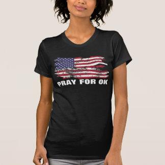 Beten Sie für O.K. - Oklahoma-Trägershirt T-Shirt