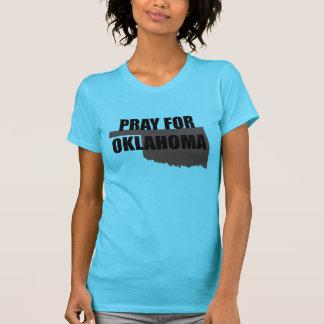Beten Sie für Oklahoma-T - Shirt