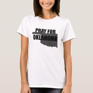 Beten Sie für Oklahoma T-Shirt