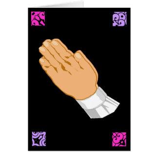 Betende Handostern-Grüße
