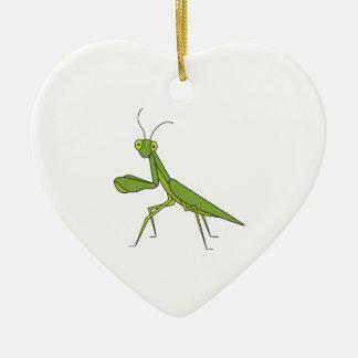 Betender Mantis Keramik Ornament