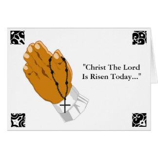Betendes Handkinderkreuz Christus der Lord Risen