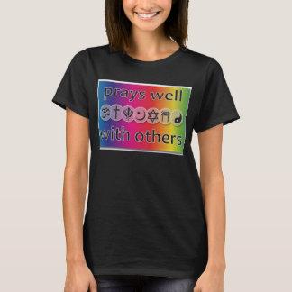 Betet gut mit anderen erstklassigen Qualitäts-T - T-Shirt
