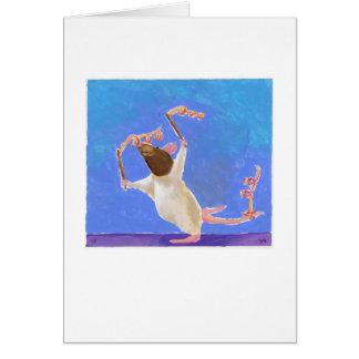 Betitelt:  Rhythmische Gymnastik - glückliche Karte