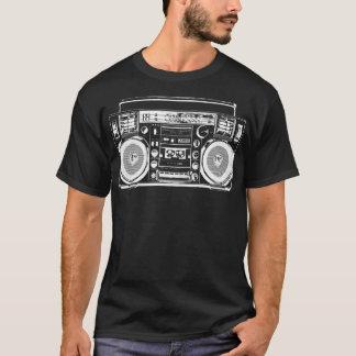 Betontes Boombox T-Shirt