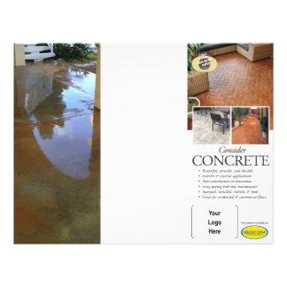 Betrachten Sie konkrete Broschüre für Brickform 21,6 X 27,9 Cm Flyer