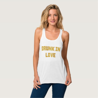 Betrunken in Liebe-Braut Bachelorette Behälter Tanktop