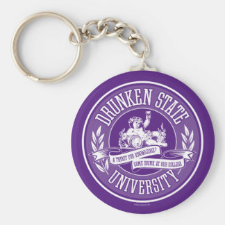 Betrunkene Staats-Universität Schlüsselanhänger