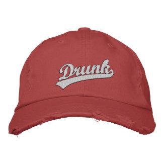 Betrunkener gestickter Hut Baseballcap