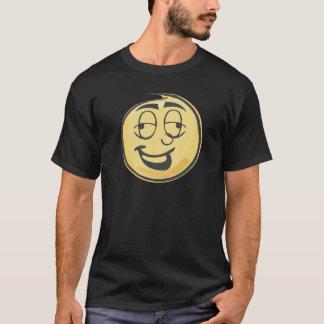 Betrunkenes Retro Emoji T-Shirt