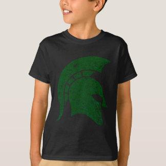 Beunruhigen-Blick spartanisches Hauptlogo T-Shirt